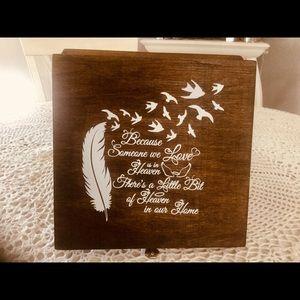 Jewelry box keepsake box